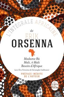 L'intégrale africaine de Erik Orsenna - ErikOrsenna