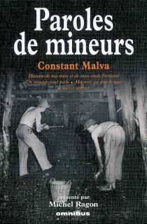 Paroles de mineurs - Constant Malva