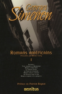 Romans américains | Volume 1 - Georges Simenon