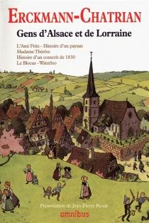Gens d'Alsace et de Lorraine - AlexandreChatrian