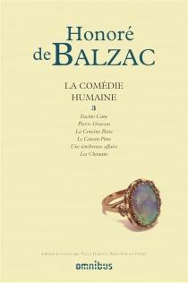 La comédie humaine | Volume 3 - Honoré deBalzac