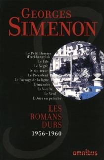 Les romans durs | Volume 10, 1956-1960 - GeorgesSimenon
