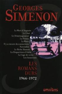 Les romans durs | Volume 12, 1966-1972 - GeorgesSimenon