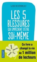 Les 5 blessures qui empêchent d'être soi-même : rejet, abandon, humiliation, trahison, injustice - LiseBourbeau