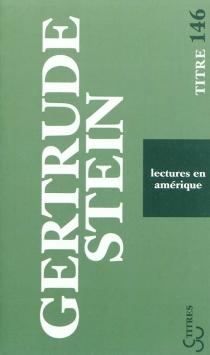 Lectures en Amérique - GertrudeStein