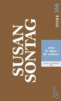 Oeuvres complètes - SusanSontag