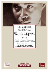 Oeuvres complètes - Jean-JosephRabearivelo