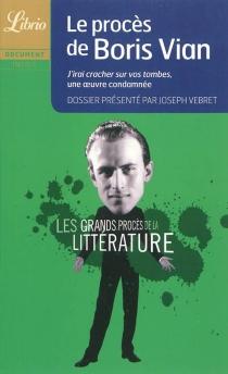 Les grands procès de la littérature -