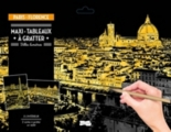 Maxi-tableaux à gratter : Paris-Florence -