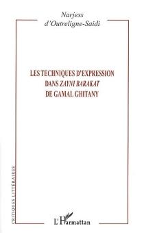 Les techniques d'expression dans Zayni Barakat de Gamal Ghitany - NarjessOutreligne-Saidi