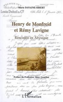 Henry de Monfreid et Rémy Lavigne : rencontre en Abyssinie - MarieDavaine-Sibert
