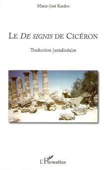 Le De signis de Cicéron - Cicéron
