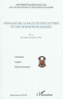 Annales de la Faculté des lettres et des sciences humaines (Brazzaville), n° 4 -