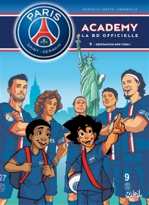 Paris Saint-Germain Academy : la BD officielle - Bento