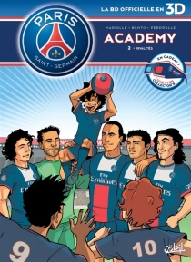 Paris Saint-Germain Academy : la BD officielle en 3D - Bento