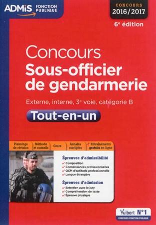Resultat concours interne gendarmerie 2017