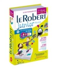 Le Robert junior illustré + son dictionnaire en ligne : le dictionnaire des 7-11 ans, CE-CM-6e