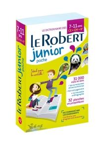 Le Robert junior poche : le dictionnaire des 7-11 ans, CE-CM-6e -