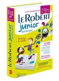 Le Robert junior poche plus : le dictionnaire des 7-11 ans, CE-CM-6e