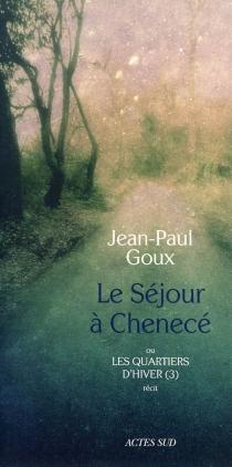 Les quartiers d'hiver - Jean-PaulGoux