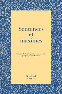 Sentences et maximes -
