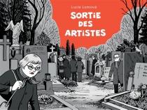 Sortie des artistes : une bande dessinée policière - LucieLomová