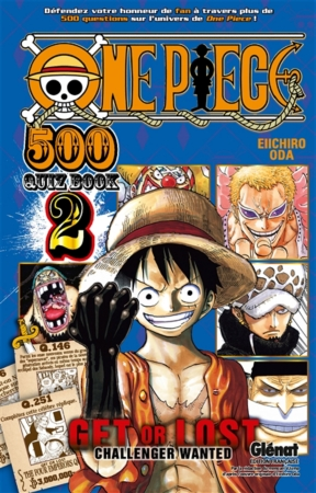 couverture one piece 500 quiz book