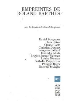 Empreintes de Roland Barthes -