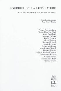 Bourdieu et la littérature -