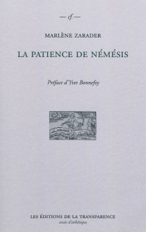 La patience de Némésis - MarlèneZarader
