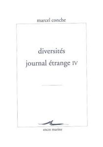 Journal étrange - MarcelConche