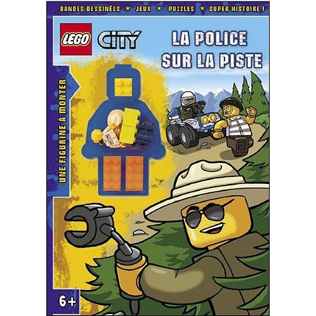 lego city la police sur la piste bd jeunesse espace culturel e leclerc. Black Bedroom Furniture Sets. Home Design Ideas
