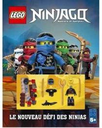 Lego Ninjago, masters of Spinjitzu : le nouveau défi des ninjas -