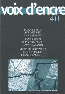 Voix d'encre, n° 40 -