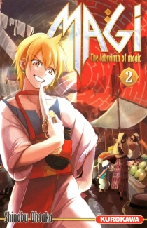 Magi : the labyrinth of magic - ShinobuOhtaka