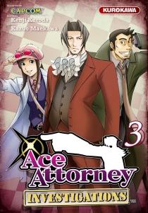Ace attorney investigations - KenjiKuroda