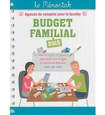 budget familial 2015 agenda de comptes pour la famille. Black Bedroom Furniture Sets. Home Design Ideas