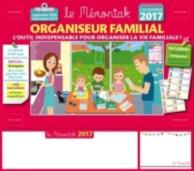 Organiseur familial, calendrier 2017 : l'outil indispensable pour organiser la vie familiale : 16 mois, septembre 2016 à décembre 2017