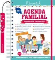 Agenda familial 2017 : septembre 2016-décembre 2017