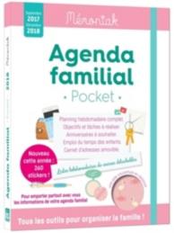 Agenda familial pocket : septembre 2017-décembre 2018