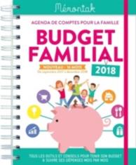 Budget familial 2017-2018 : agenda de comptes pour la famille, de septembre 2017 à décembre 2018 : tous les outils et conseils pour tenir son budget et suivre ses dépenses mois par mois