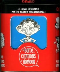 La boîte à citations d'humour -