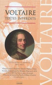 Textes interdits - Voltaire