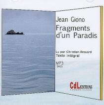 Fragments d'un paradis - JeanGiono