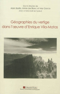 Géographies du vertige dans l'oeuvre d'Enrique Vila-Matas -