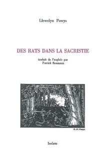 Des rats dans la sacristie - LlewelynPowys