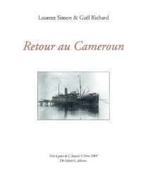 Retour au Cameroun -