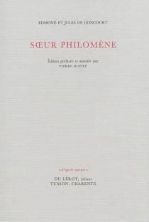 Soeur Philomène - Jules deGoncourt