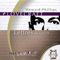 Lettres de 1929, juillet à décembre - Howard Phillips Lovecraft