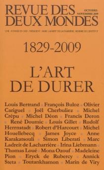 Revue des deux mondes, n° 11 (2009) -